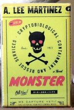 """Monster - 2"""" X 3"""" Fridge / Locker Magnet. A. Lee Martinez"""