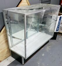 "Used glass display showcase 48""×41""×32 34;"