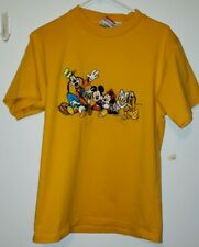 Vintage Mickey Inc. Disney Mickey And Friends Embroidered Shirt Sz S