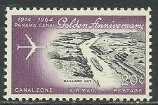 US Possession Canal Zone Airmail stamp scott c39 - 20 cent iss of 1964 - mnh #3