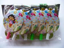 Dora The Explorer Birthday Party Blowers PK 6