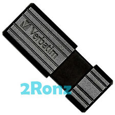 Verbatim Pinstripe 16GB 16G USB Flash Drive Disk Memory Thumb Stick Black