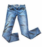 AG Adriano Goldschmied The Stilt Cigarette Leg Jeans Women 27R Medium Wash Denim