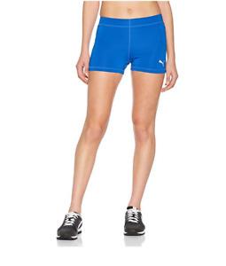 PUMA Cross the Line Shorts Pants For Woman Blue Size M UK 12