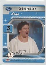 2004 American Idol Season 3 Card Game #NoN Celebration (Song) Non-Sports 0n2