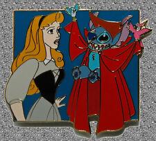 Stitch & Briar Rose Pin (Aurora - Sleeping Beauty) - DISNEY AUCTIONS Pin LE 500