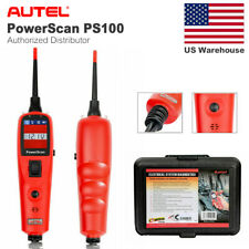 Autel PS100 Diagnostic Car Electrical System Tester Scanner Auto Test Leads Tool