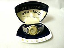 Bulova Sea King 17 Jewel Wristwatch & Box