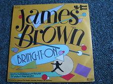 James Brown-Bring it on 7 PS-Germany-1983-Soul-45 U/min-Sonet