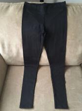 Full Length Black Yoga Pants Leggings Large/Extra Large InTouch