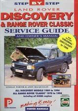 Land Rover Discovery & Range Rover Classic: 1970-96: Step-by-Step Service Gu