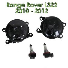 PAIR of Front Smoked Fog Lamp light for Range Rover L322 Vogue 2010 on new spot