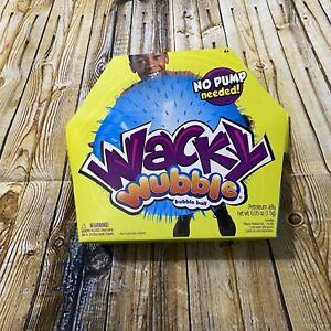 NEW Wacky Wubble Bubble Ball Blue No Pump Needed