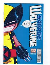 Savage Wolverine # 1 Variant Cover 1st Print Marvel NM X-Men