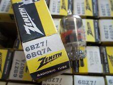 Radio VacuumTubes 6Bz7 / 6Bq7 A Zenith (5 pieces) Nos/Nib