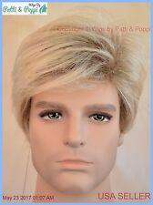 Men's Wig  Color Pale Cedar New Man Wig Men 1207A