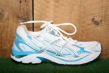 ASICS 'GT-2150' White, Blue & Silver Mesh Trainers Running Shoes Women's Sz. 7D