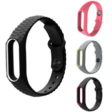 Silicon Soft Wrist Strap WristBand Bracelet fit XIAOMI MI Band 2 / MI Band 3
