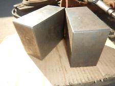 2 Riser Blocks Machinist Setup Tooling Box Parallel Lot A
