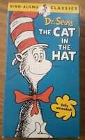 Dr. Seuss: The Cat in the Hat Sing-Along Classics [VHS]