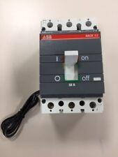 ABB SACE S3 S3N S3N050TW Circuit Breaker 3 Pole 50 AMP 600 VOLT 12VDC SHUNT