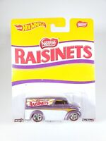 2016 Hot Wheels Nestle Raisinets Dairy Delivery Real Riders 1:64 Diecast NEW NOC