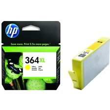 Original & Genuine HP 364XL Yellow high capacity Ink Cartridge (CB325EE)