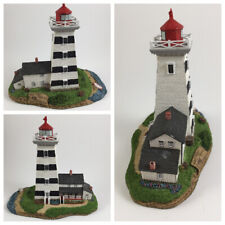 "Harbour Lights Lighthouse #285 ""West Point"" (Canada) Nib Collectible with Coa"