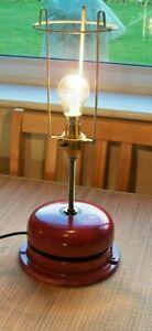 Industrial Style Fire Bell Lamp / Steampunk / Retro / Vintage