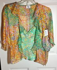 "Blouse Designer ""Original Milly of New York""  2-piece 100% Silk  with tags"