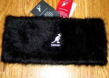 Black Kangol Furgora Headband a93fc11140bb