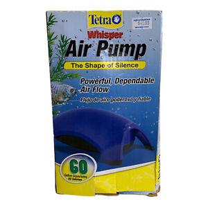 Tetra Whisper Easy to Use Air Pump for Aquariums  40-60-Gallon Tank Bubbler Pump