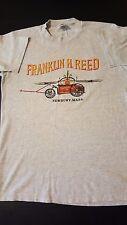 Vintage 80s Frank Franklin H. Reed T-Shirt Newbury Massachusetts Wagon 75
