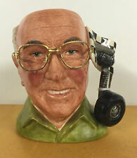 SMALL ROYAL DOULTON CHARACTER JUG MURRAY WALKER OBE D7094 *****EXCELLENT*****