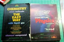 Chemistry The Easy Way Barrons & Conceptual Physics Lab Manual Paul G. Hewitt