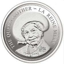 2002 Queen Mother Proof Silver Dollar (10649)