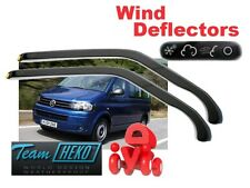VW T5 T6  2003 - 2014 Wind deflectors 2.pc  HEKO  31173   STICKING