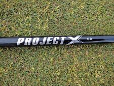 """Project X Black 6.0 Driver Graphite Shaft Pull Out 43.5"""" LENGTH W/ .350 TIP"""
