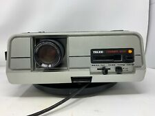 Telex Caramate 3200 35mm Slide Projector + 1 Carousel Tray + Spare Bulb MW
