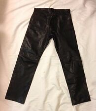 Ambition New York - Genuine Men's Leather Pants Size 33 x 32