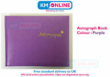 Tallon Hardback 140mm x 112mm Autograph Book 120 Pages