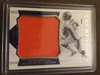 DaeSean Hamilton 2018 National Treasures Tremendous Rookie Relic #35 Broncos /99