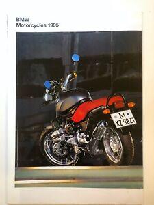 The BMW Motorcycle Range Brochure 1995 K1100 RS RT K75 K75S K1 R1100 R100 GS