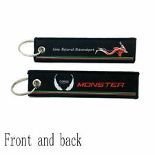 Key Rings Key Chains For Ducati monster Motorcycle Keychain Keyrings Key Fobs