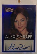 2015 Alexis Knapp Panini Americana Autograph Card 49/49 AU Auto  Pitch Perfect