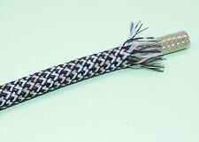Viablue Gewebeschlauch Geflechtschlauch STONE Medium für Kabel von 6-14mm 44330
