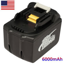 18V 6.0Ah 6000mAh Lithium-Ion LXT Replace Drill Batteries New For Makita BL1860