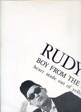 RUDY L boy from the dessa 12INCH 45 RPM EP 1988 RARE DUTCH rudy lentze RARE