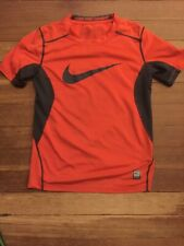 NIKE Pro Combat Logo Shirt Boy Small S