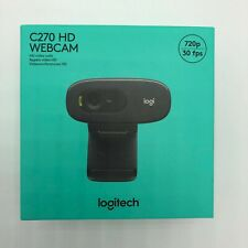 Logitech C270 Desktop or Laptop Webcam HD 720p Widescreen Brand New